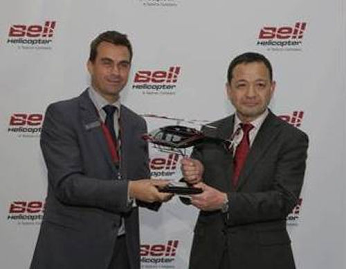 Nakanihon Air Service Signs Purchase Agreement for Two Bell 429s at Heli-Expo 2017