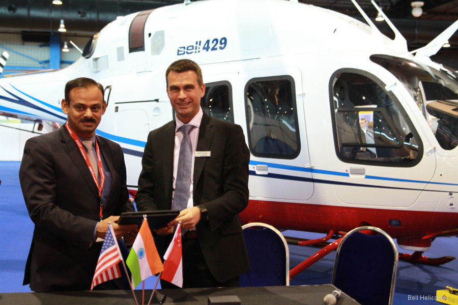Tata Steel Group has purchased a second Bell 429 helicopter to support their steel production operations