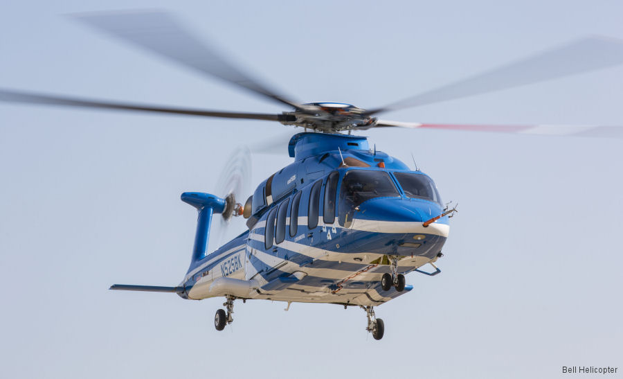 Bell 525 Relentless program resumed flight test activity after receiving experimental certificate renewal from the Federal Aviation Administration (FAA)