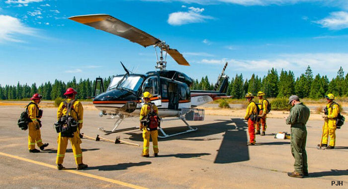 FAA grants PJH increased internal gross weight on Bell 214B