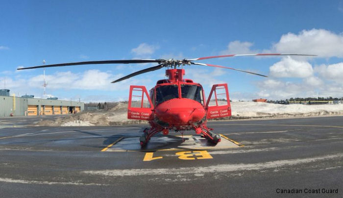 Bell Completed Canadian Coast Guard Contract