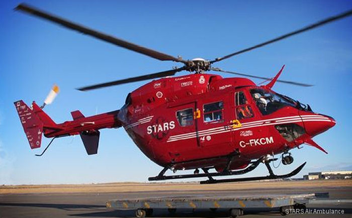 Airwork NZ will upgrade 3 of 8 Alberta's STARS  (Shock Trauma Air Rescue Service) BK117-B2 to the BK117-850D2 type installing Honeywell LTS101-850B-2 engines