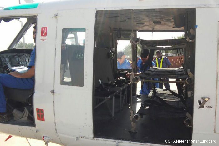 GHS helicopters complete UN emergency mercy missions