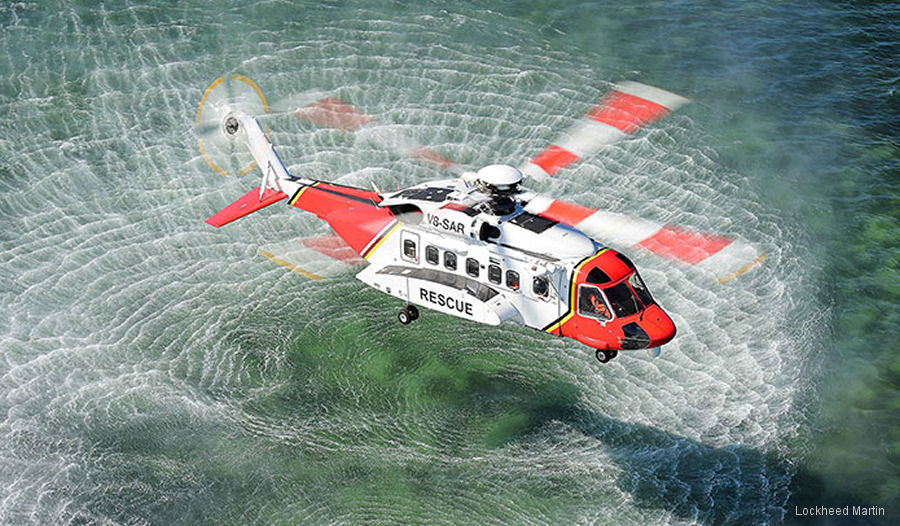 Sikorsky recognized Brunei Shell Petroleum (BSP) during the 2017 Rotorcraft Asia show for 50 years of continuous service with Sikorsky helicopters