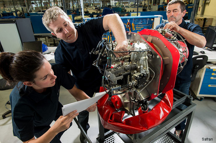 Bell Helicopter's Training Academy will operate two Bell 505 aircrafts and signed the first Safran's 5Star Plans contract to support Arrius 2R engines