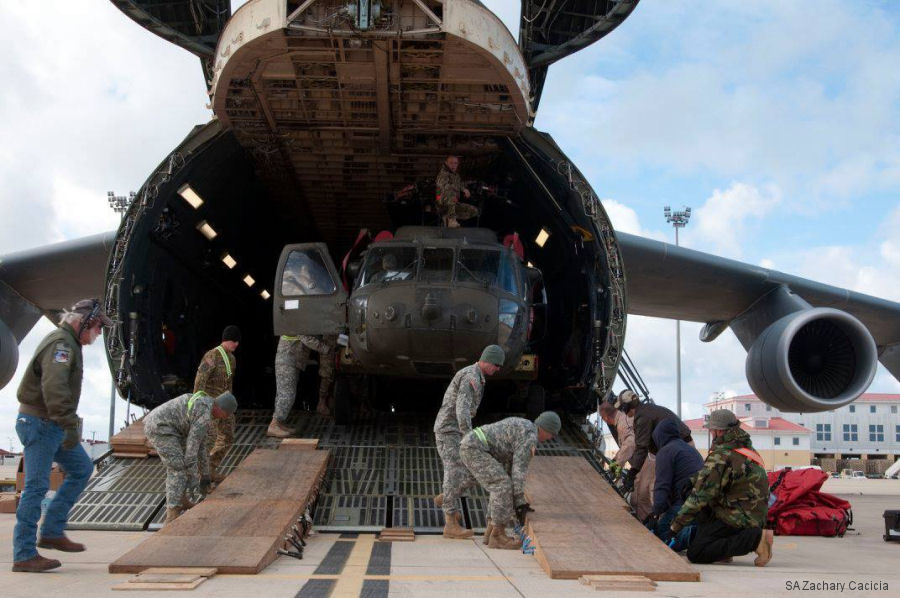 82 Black Hawk, Apache and Chinook helicopters from 2 U.S. Army Combat Aviation Brigades were flew in and out of Afghanistan from Rota in Spain between March 21 and April 6