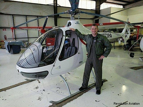 Orange County Revolution Aviation (EatSleepFly) flight school to be the first operator of the Guimbal Cabri G2 in California when take delivery of the two-seater helicopter in mid-2017