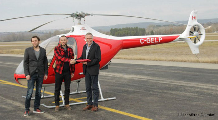 Transport Canada issued type certificate to the Guimbal Cabri G2. The fist two Canadian helicopters were for British Columbia-based BC Helicopters. 190 already delivered worldwide