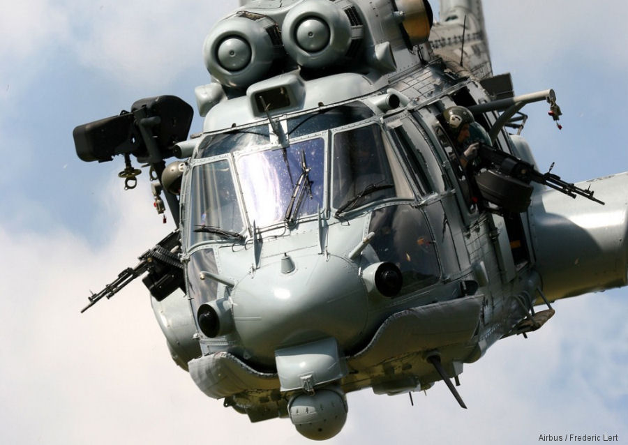 Electro Optical and Infrared (EO IR) camera for  Caracal helicopters