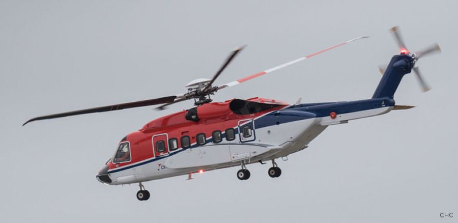 CHC awarded contract from Centrica to provide S-92 helicopter services in support from Kristiansund of their forthcoming drilling program at the Fogelberg field in the Norwegian Sea