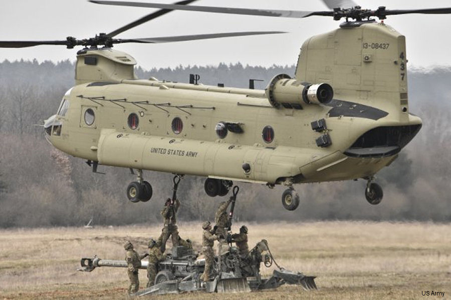 COTESA GmbH will produce complex composite parts for the Boeing CH-47 Chinook heavy-lift helicopter under a 5 years contract. COTESA joins Boeing's established supply chain in Germany