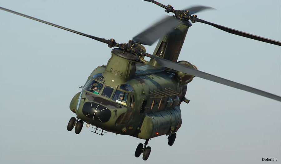Six Dutch CH-47D Chinooks to be Upgraded to F