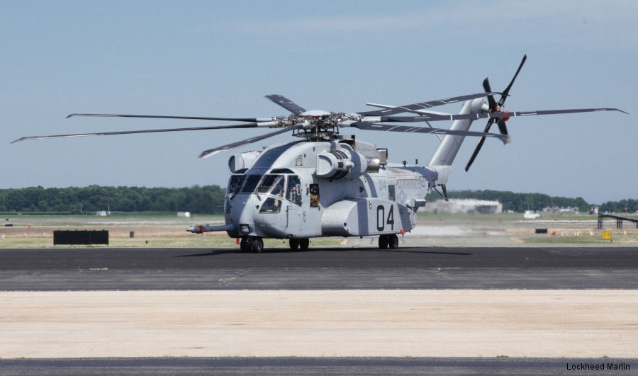 "The CH-53K completes its first extended ""cross country"" flight from Sikorsky Facility at West Palm Beach, FL to Patuxent River Naval Air Station, MD to begin testing flights"