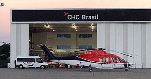 CHC Brazil, a subsidiary of CHC, opened its new 1270m2 hangar at Benedito Lacerda Airport, in Macaé