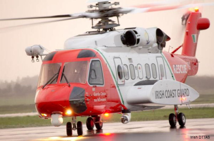 Irish Coast Guard S-92 helicopters, operated by CHC Ireland Ltd, will have a new hangar at the Dublin Airport from 2018.