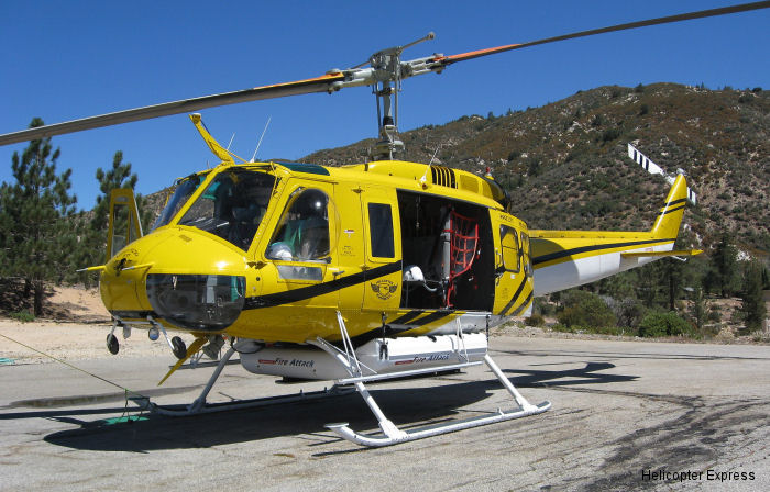 Georgia based Helicopter Express, under contract by the Chilean government CONAF for 100 days, shipped 3 Bell 205A++ and one K-MAX by An-124 to respond to biggest forest fires in Chile's history