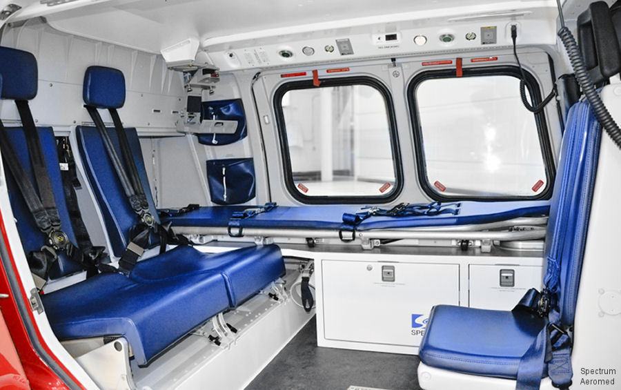 Spectrum Aeromed, designer and manufacturer of customized air ambulance equipment, will exhibit for the first time at the China Helicopter Exhibition, Tianjin, September 14-17