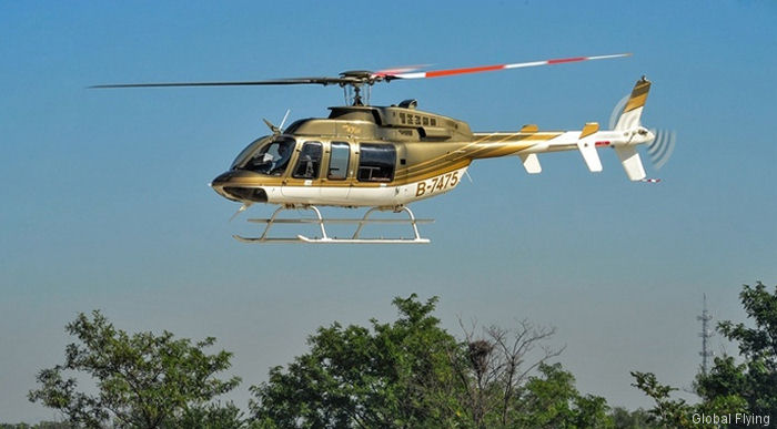 Aerochine Aviation is the official representative of Bell Helicopter for China, Hong Kong and Macau