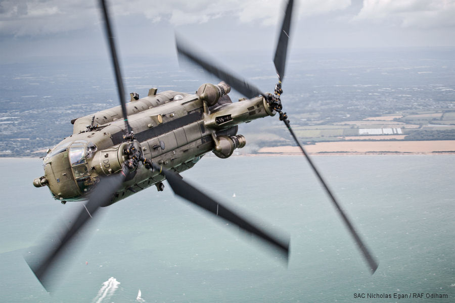 Vector Aerospace UK, MRO provider, received a 2016 Boeing Performance Excellence Award for its support of the Chinook heavy-lift helicopter.