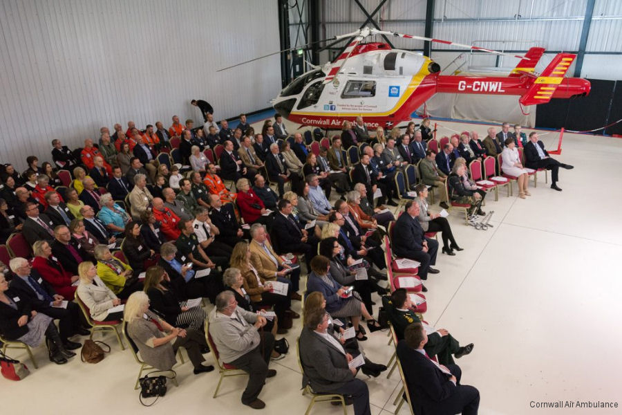 In April 1987, Cornwall became the first place in the UK to launch an air ambulance helicopter service.