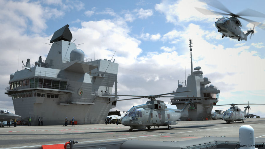 UK Minister for Defence announced £269M deal for new helicopter-borne