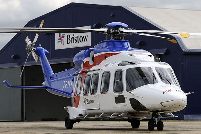 Bristow's first flight for ENGIE E&P using the AW189 aircraft took place on July 21, 2014