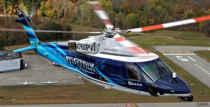 Sikorsky won the contract for Phase 3 of the Defense Advanced Research Projects Agency s (DARPA) Aircrew Labor In-Cockpit Automation System (ALIAS) program  to increase Aircraft Autonomy.