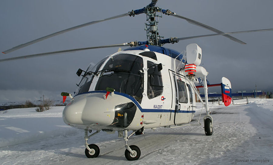 Russian Helicopters is creating the technological production model of the Ka-226T helicopters at the Ulan-Ude Aviation Plant