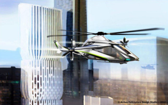Airbus Helicopters LifeRCraft proposal for the European Clean Sky 2 initiative