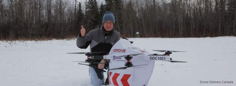 Drone Delivery to be Tested in Northern Canada