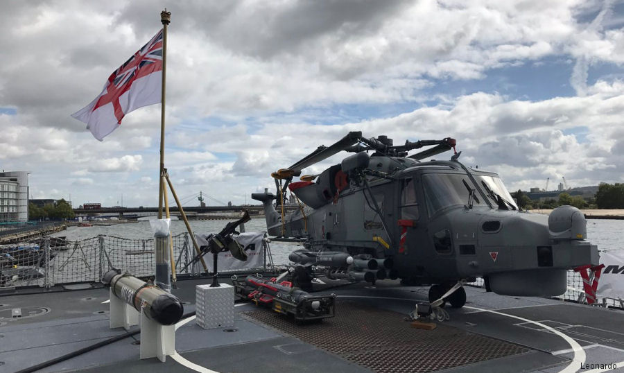 Leonardo to feature the AW159 Wildcat and the Merlin Mk2 and Mk4 at the Defence and Security Exhibition DSEI 2017, at the ExCel Centre in London, Sept 12-15
