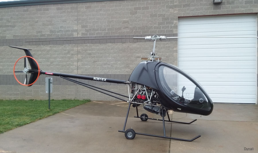 Belgium' Dynali places first H3 in USA with importer Hangar 36 in Cincinnati and received first order from New Zealand. They also sent kits for China, France and South Korea.