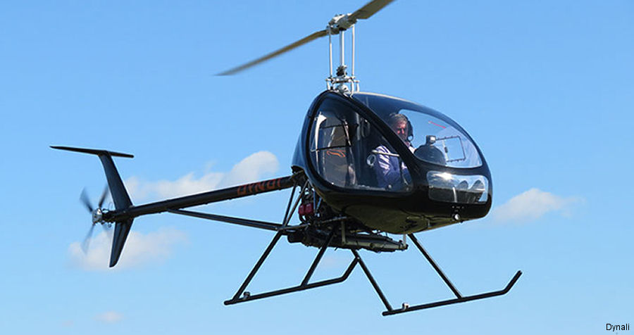 Belgian manufacturer Dynali announces the delivery of its 50th H3 microlight helicopter