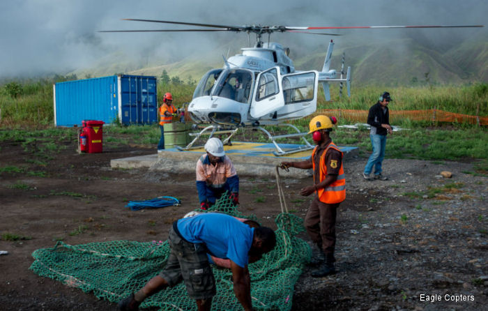 Eagle 407HP trials in Papua New Guinea produce 30 to 50 percent increase across all tasked loads