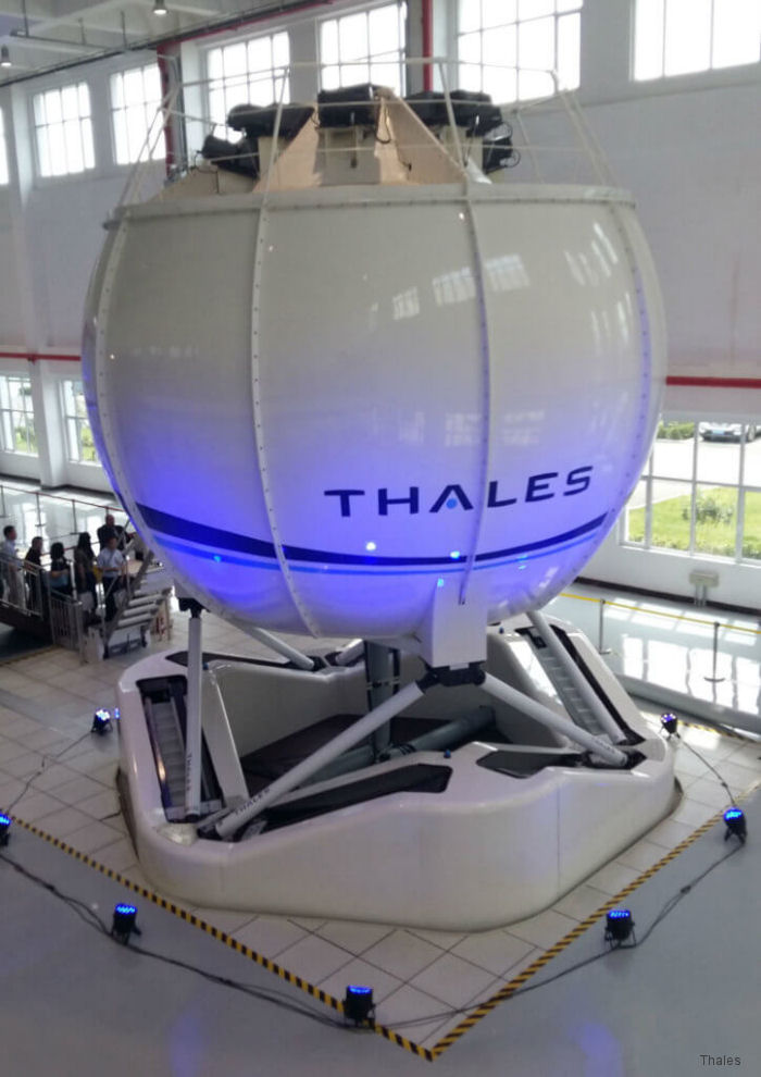 Thales Delivered First EC135 Simulator in China