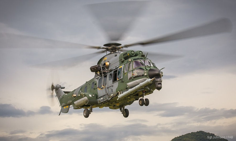 Brazilian Air Force Completes 10.000 Flight Hours With H225M Fleet