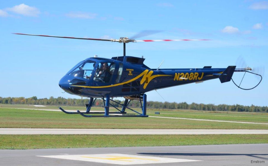 Enstrom signed a contract for 6  480B-G turbine helicopters with LOM PRAHA TRADE a.s. in the Czech Republic