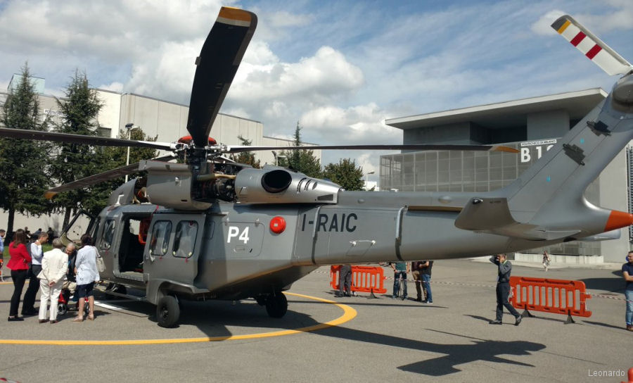 Leonardo AW169 and AW189 helicopters at the Politecnico Milano for the 43d European Rotorcraft Forum ERF 2017, Sept 12-15