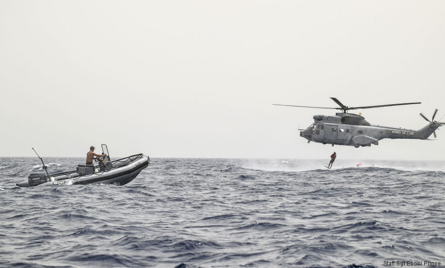 US French Rescue Training in Djibouti