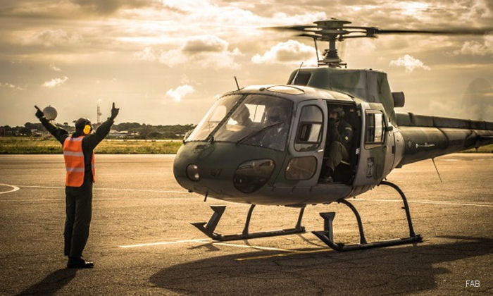 Brazilian Air Force 1º/11º GAv Squadron Gavião (Hawk) celebrates its 50 anniversary. Created in 1967 trains pilots and mechanics for rotary wing aircraft