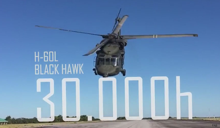 Brazilian Air Force Black Hawk Reaches 30,000 Flight Hours