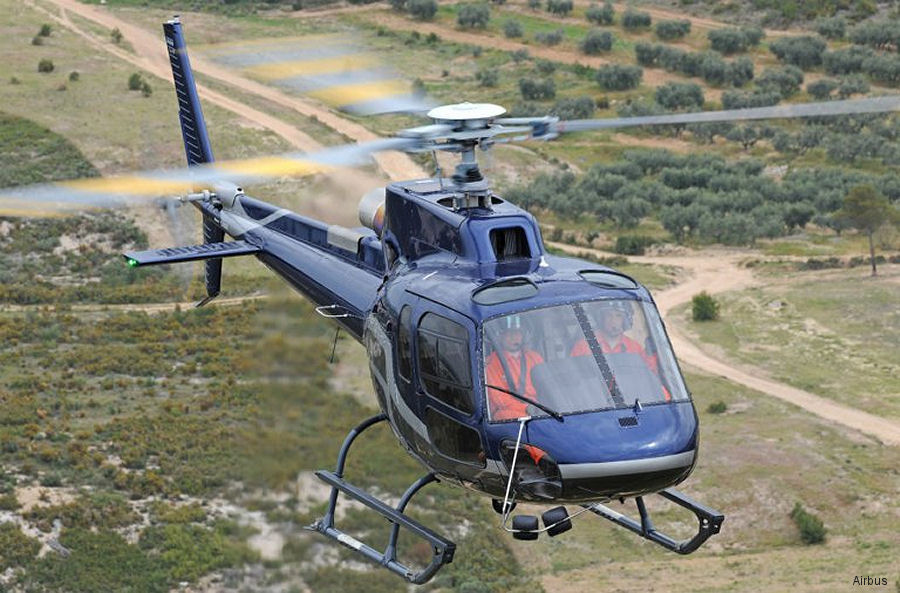 Akagi Helicopter from Japan ordered its first H125/AS350B3e to be delivered in 2018 to replace the last SA315 Lama being in service in  the country