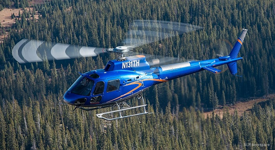 BLR Aerospace Receives Transport Canada Approval for H125 FastFin System