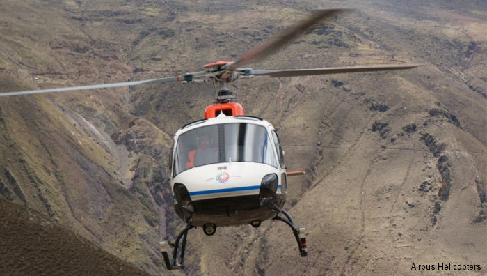Airbus Strengthened Ties with Ecuador's Police by Delivering an H125