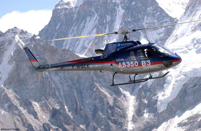 Chinese Ruo'er Group signed letter of intent (LoI) for a total of 12 H125/AS350B3e with first confirmed order of four aircraft to be operated by Lhasa Snow Eagle GAC