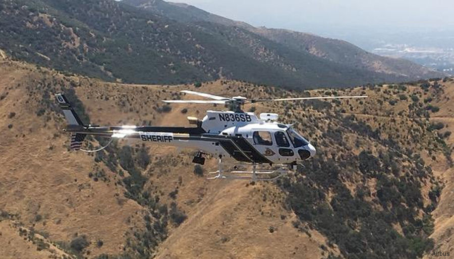 San Bernardino County Sheriff's Department in California orders 2 H125 / AS350B3e during the Airborne Law Enforcement Association (ALEA) Annual Conference 2017 in Reno, Nevada