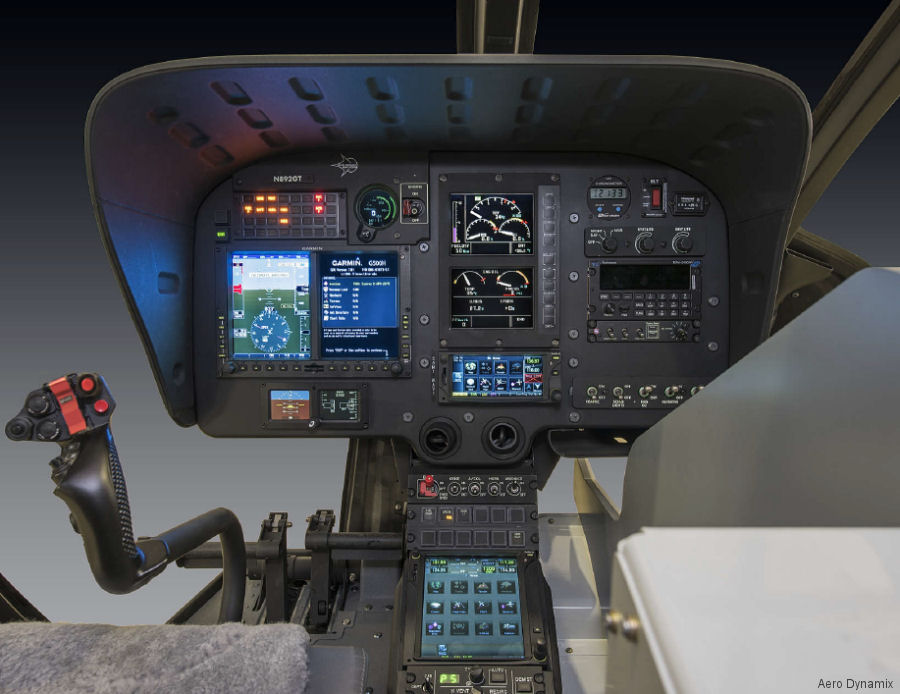 Aero Dynamix (ADI) completed NVG modification to a Air Medical Resources Group (AMRG) Airbus H130 helicopter