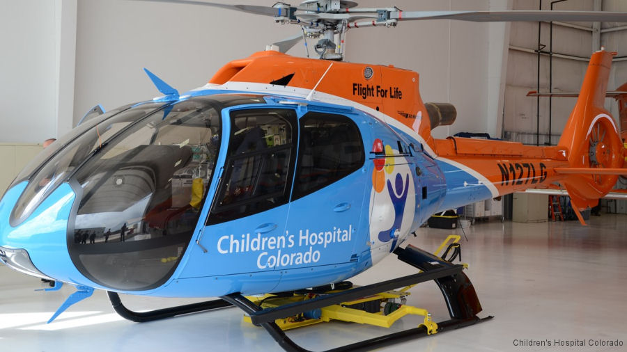 Flight for Life Colorado, Centura Health and Children's Hospital Colorado Announce New Helicopter Is Ready for Service