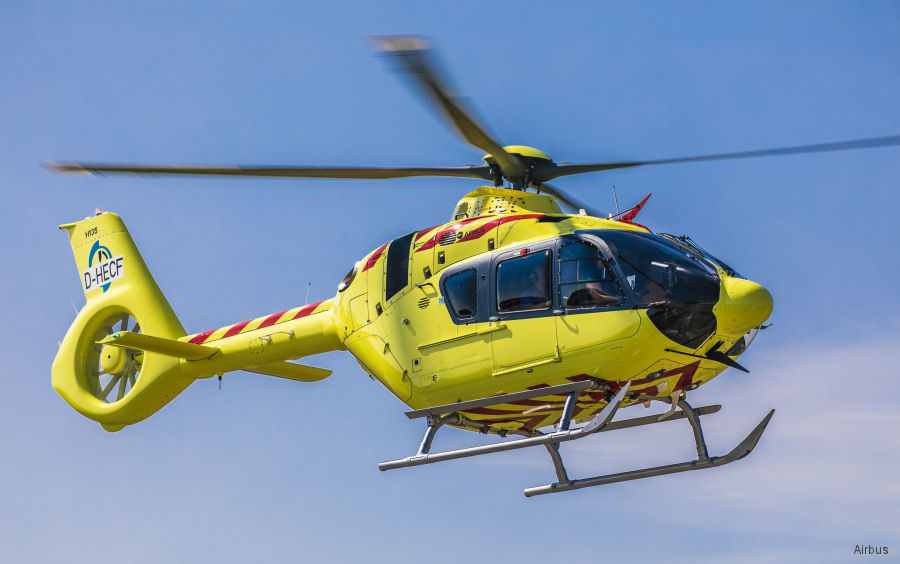 Norwegian air ambulance Norsk Luftambulanse is the first civil customer to receive an H135 equipped with Helionix. The remaining 7 EC135T3 ordered will be delivered in 2017 and 2018