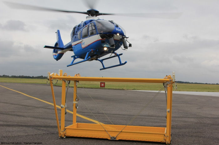 Airbus Helicopters UK to deliver a power line maintenance customisation kit for H135 / EC135T3 operated by RTE-STH, the helicopter division of French public utility company RTE